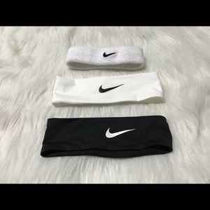 Lot of Nike Headbands
